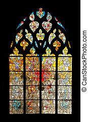 Vernon cathedral window
