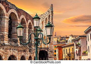 Verona. City landscape.