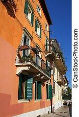 verona, italia, architettura