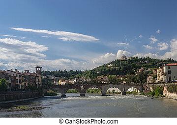 Verona,  Ponte,  pietra