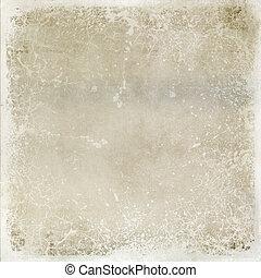 verontruste, bruine , abstract, achtergrond, textuur