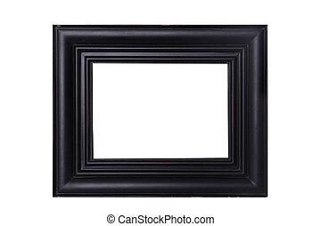 verontruste, frame, black