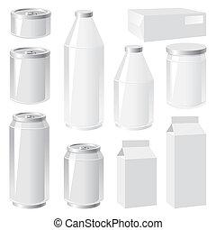 verpackung, behälter