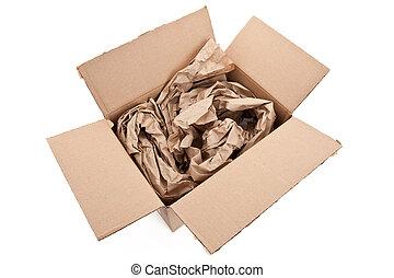 verpackung, material