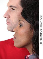 verrührtes ehepaar