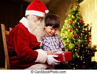 verrassing, kerstmis