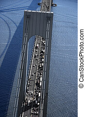 Verrazano-Narrows Bridge, NYC.