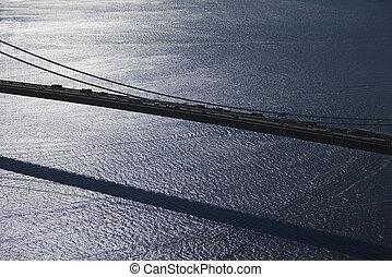 verrazano-narrows, pont, nyc.