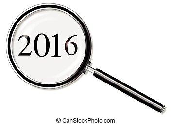 verre, 2016, magnifier