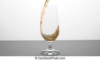 verre, bière, -, hd