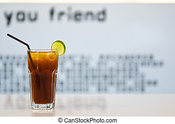 verre, boisson