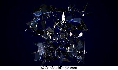verre brisé