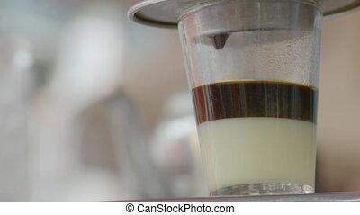 verre, filtre, vietnamien, brassage, café