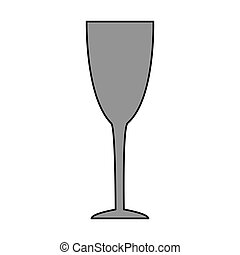 verre, fond blanc, tasse