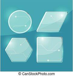 verre, frontière, transparent, tecnology