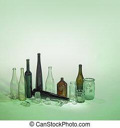 verre, gaspillage