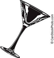 verre, martini