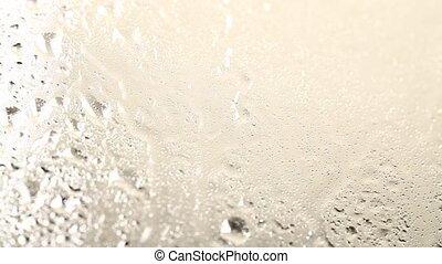 verre, mouillé