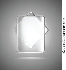verre, rectangles, transparent