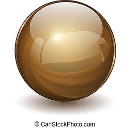 verre, sphère