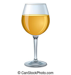 verre vin, blanc