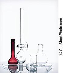 verrerie, chimie