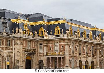 versailles, alatt, párizs, franciaország