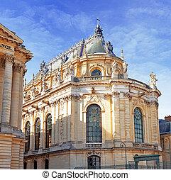 Versailles Castle. Famous Royal Chapel . Paris. - Versailles...