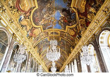 Versailles Castle, Paris, France - VERSAILLES, FRANCE -...