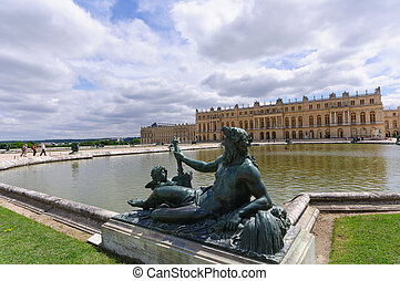 Versailles, France - Palace and Park of Versailles, The...