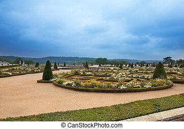 Versailles, France. Park