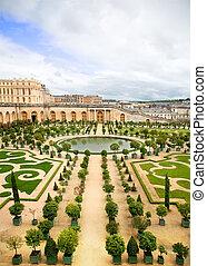 One of Versailles Palace garden, Paris, France