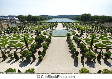 Versailles gardens France - Versailles gardens in France