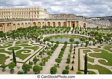 Versailles - Famous palace Versailles near Paris, France...