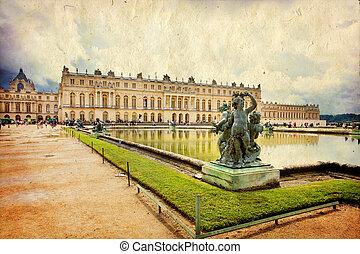 versailles, zamek, paryż, francja