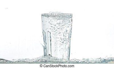 versant eau, verre