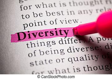 verscheidenheid