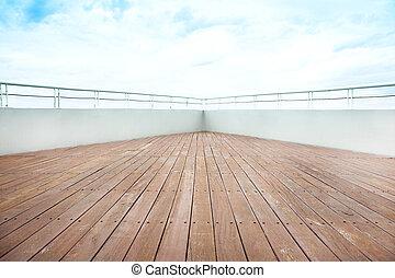 verschicken kreuzfahrt, deck