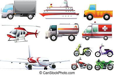 verschieden, transportations