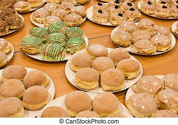 Berliner Pfannkuchen - verschiedene Berliner Pfannkuchen