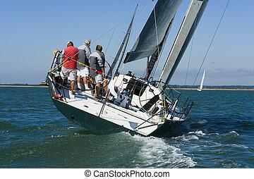 versenyzés, jacht