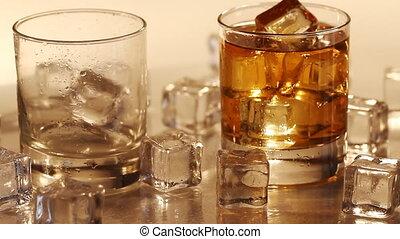 verser, verre, whisky