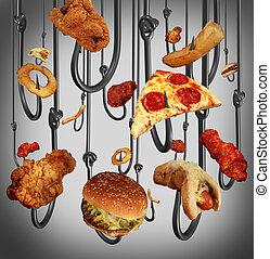 verslaving, eten