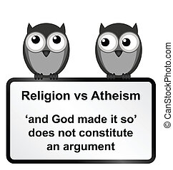 versos, religião, ateísmo