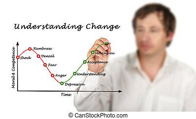 verständnis, änderung