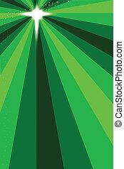 vert, étoile, noël