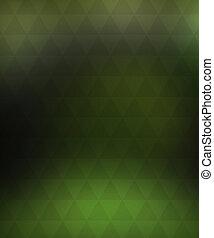 vert, arrière-plan flou