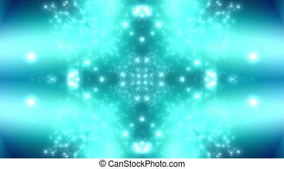 vert bleu, particule, boucle, euphorie