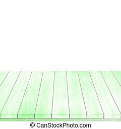 vert, bois, intérieur, fond, salle, noël., plancher