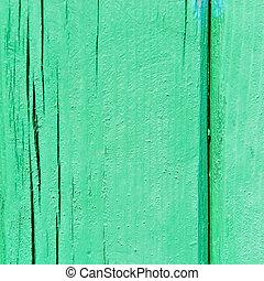 vert, bois, texture.